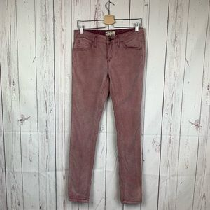 Free People Women's Corduroy Skinny Pants Size 28